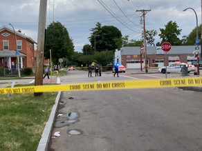 Homicide on Jay Street and Orchard Street in Rochester New York