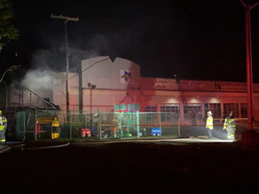 Daycare center catches fire