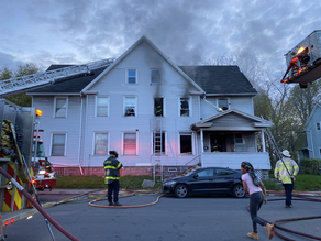 Large house fire on Child Street leaving one person in the hospital
