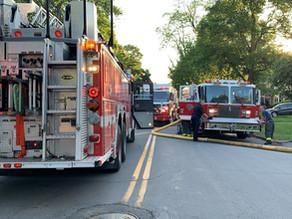 House fire on Flower City Park