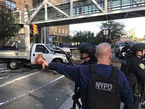 8dead, 14+injured in Manhattan truck attack, officials say