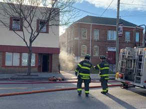 House fire on JosephAvenue near Avenue D