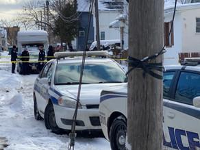 Stabbing investigation on Murray Street