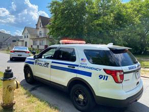 Police chase ended on Sanders Street