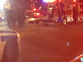 Motorcycle crash in Rochester on North Street