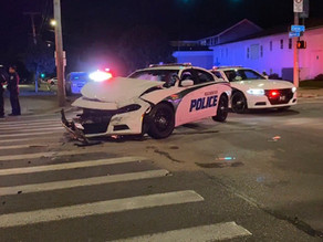 Police involved in serious car crash on Carter Street and Norton Street