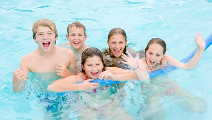 A-group-of-children-in-the-pool%2C-holdi
