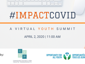 #ImpactCOVID: A virtual youth summit