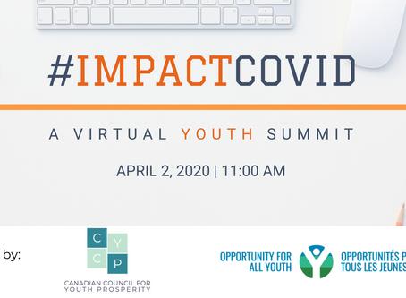 #ImpactCOVID: A virtual youth summit
