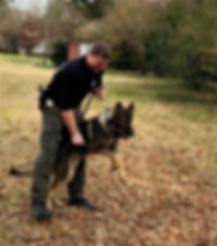 Officer Boone of Mocksville, SC an K9 Grant