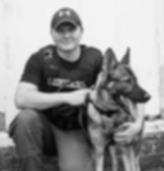 Office Boone with K9 Grant for his K-9 Unit Mocksville NC
