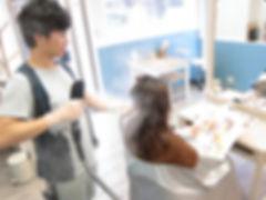 武蔵小山の美容室Hivira・縮毛矯正・パルッキー