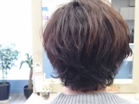 ショートヘアのパーマスタイル