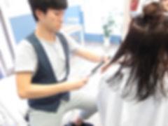 武蔵小山の美容室Hivira・縮毛矯正・ウェットカット