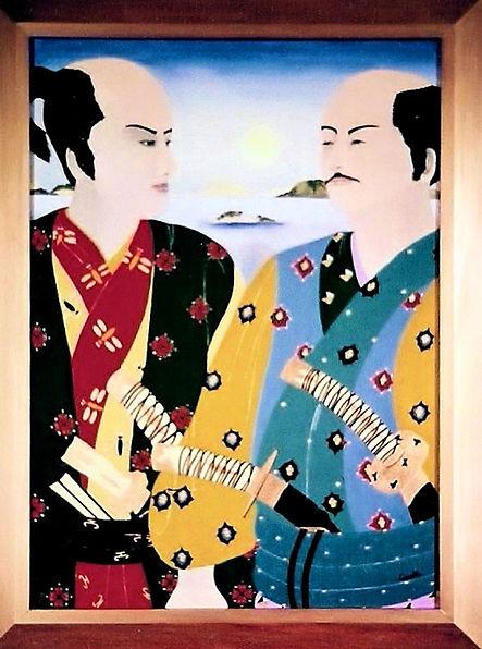 4_Samurai's_________h105_x_br80cm._____g