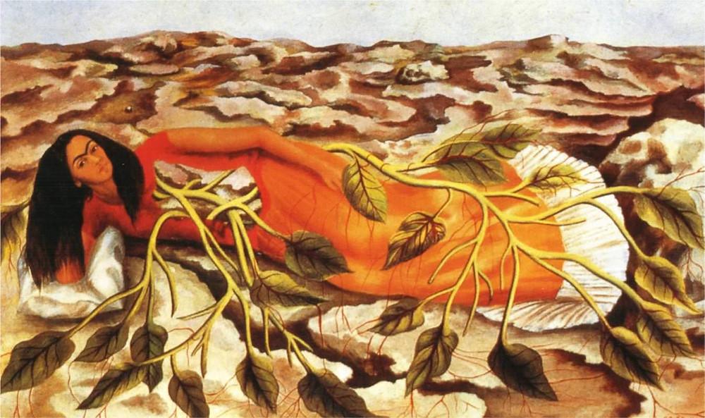 Frida Kahlo - Roots - 1943