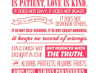 How do you define your Love?