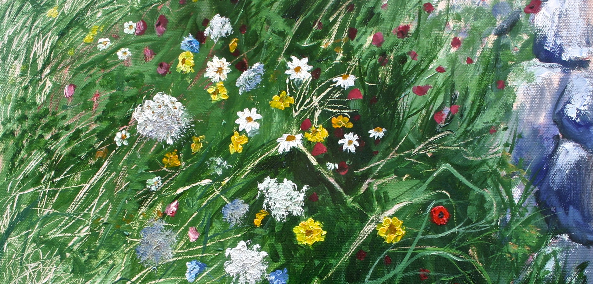 Wildflower Wall