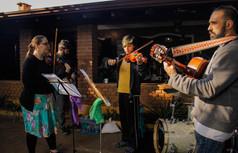 Keroll Weidnner, Professora de Música, Violinista e Violetista: Audição dos alunos e Apresentação Musical no Festejo Junino em comemoração de aniversário de 1 ano de Eu-Movimento. Foto: Caio Cesar.