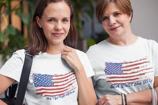 daughter-and-mom-wearing-t-shirts-mockup