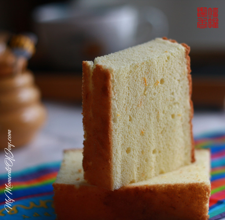 Orange-flavor Chiffon Cake