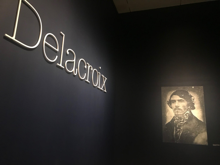 Delacroix at The Met Fifth Avenue