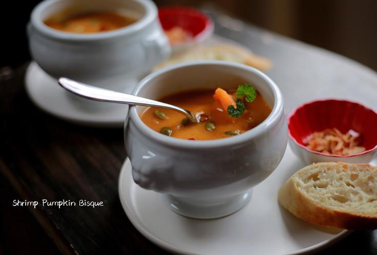 Shrimp Pumpkin Bisque