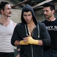 Nick Jonas, Frank Grillo, & Jonathan Tucker