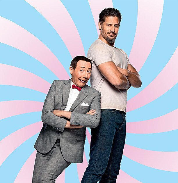 Paul Rubens and Joe Manganiello