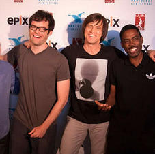 Chris Rock, Jim Carrey and Bill Hader