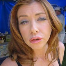 Alyson Hanigan (with Prosthetic Lips)