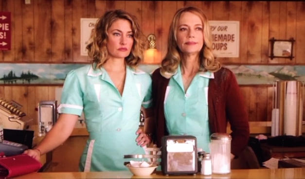 Mädchen Amick & Peggy Lipton