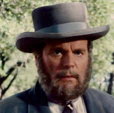 Robert Wagner (with hand-layed period beard)