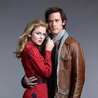 Rose McIver and Will Kemp