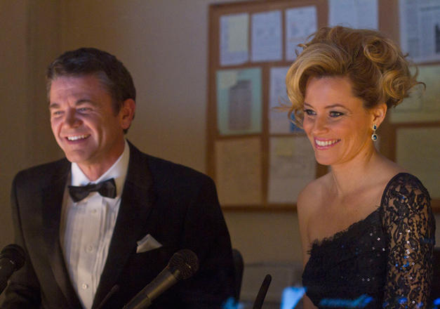 Elizabeth Banks and John Michael Higgins