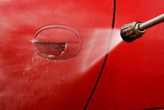 car pressure wash