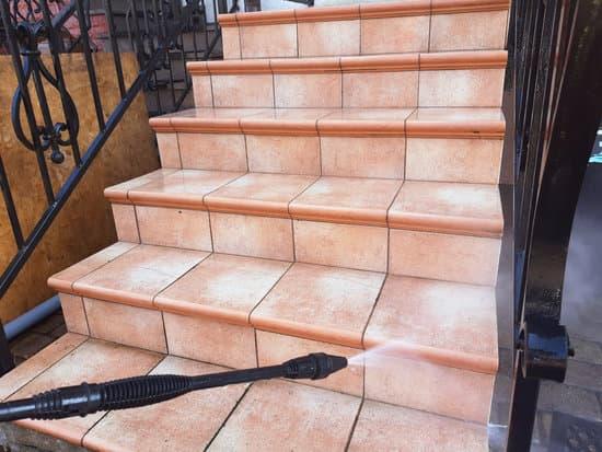 stair pressure wash