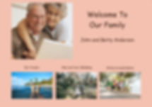 Sample webpage for our family
