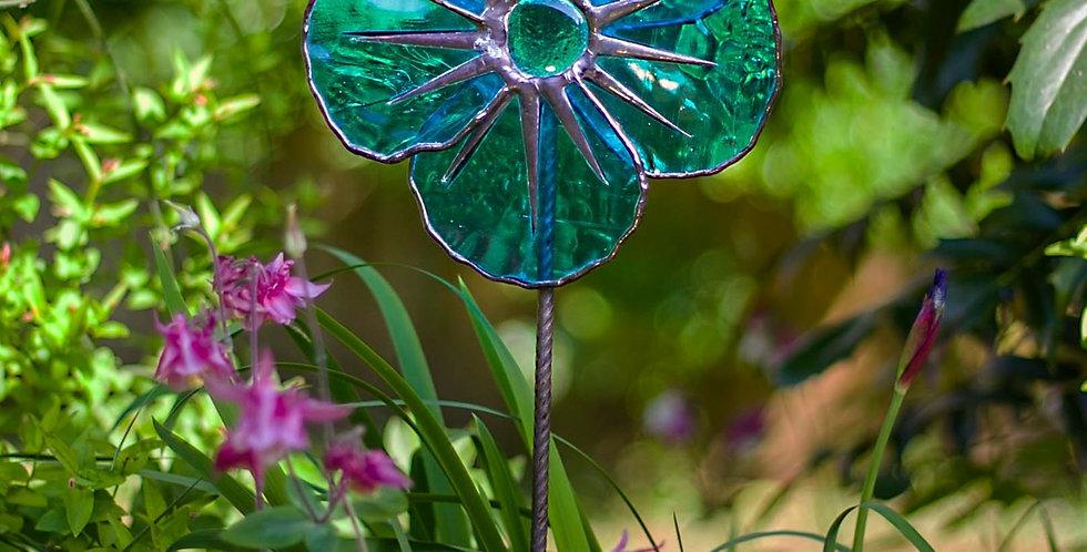 Blue Poppy Design 1