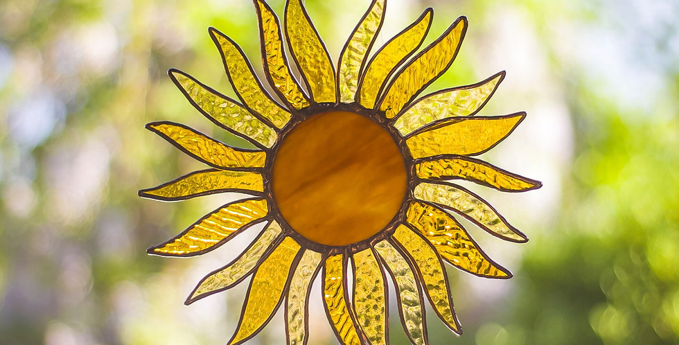 Hanging Sunflower Head Design 1