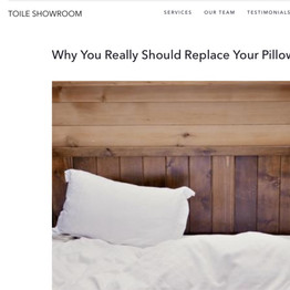 Replace Your Pillow