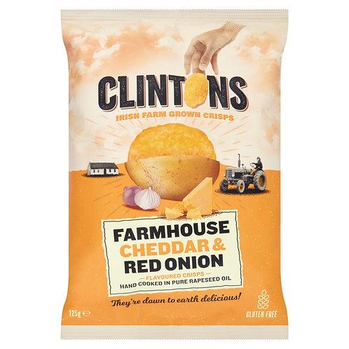 Farmhouse Cheddar & Red Onion 125g x 12 Packs