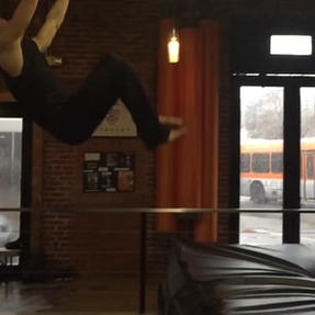 Tyler Fleming Stunt Training