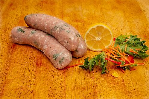 Pork Thick Sausage $22.50 p/kg