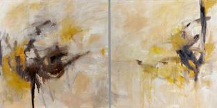 a pause,acrylic & oil on canvas, 112 x 137cm