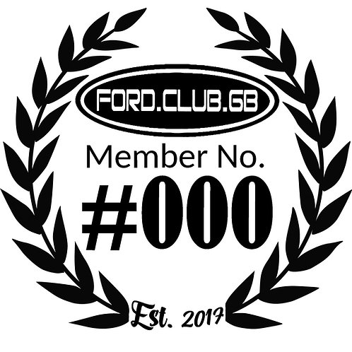 External Membership  Number FCGB Decal