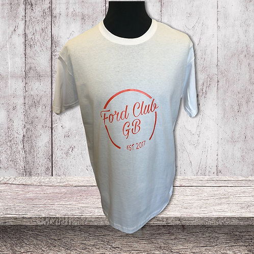 Ford Club GB  T shirts  Fruit Of the loom