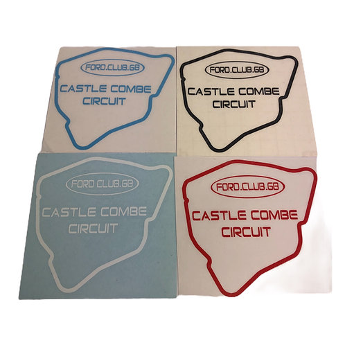 Ford Club GB Castle combe Decals External
