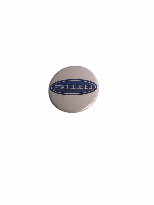 Ford Club GB Small Button  Badges  25mm