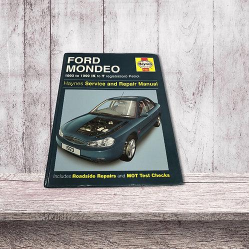 Ford Mondeo Mk3  haynes  Workshop Manual 93-99